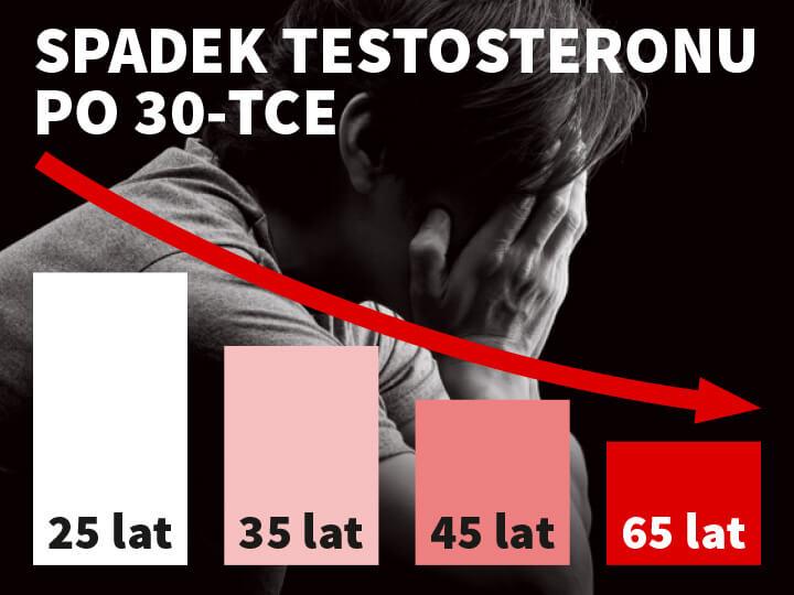 ProMan Plus - spadek testosteronu po 30